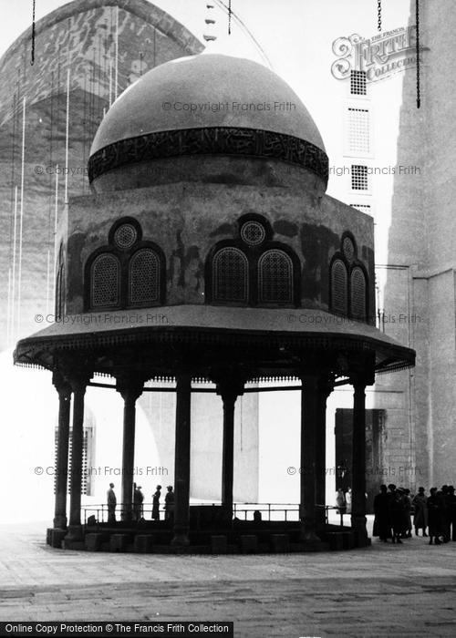 Photo of Cairo, The Mosque Madrassa Of Sultan Hassan, Interior c.1935