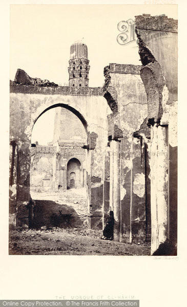 Photo of Cairo, The Mosque Of El Hakim 1857