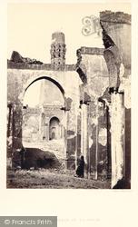Cairo, The Mosque Of El-Hakim 1857