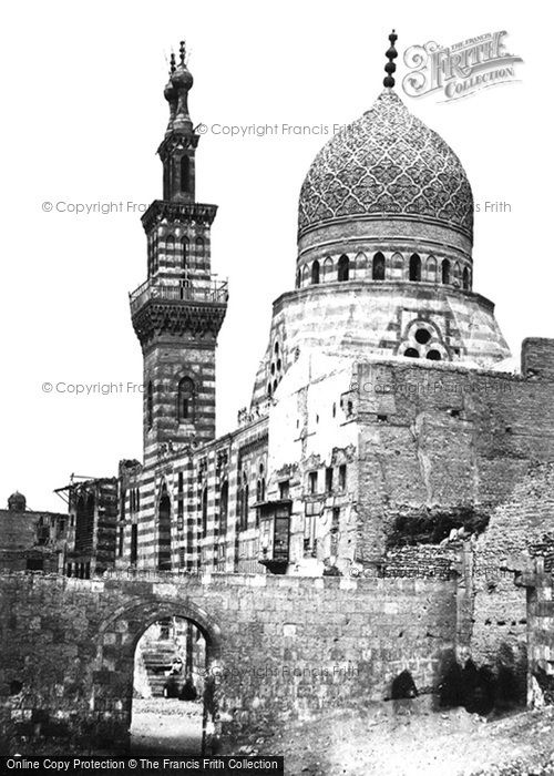 Photo of Cairo, The Mosque Of Emeer Akhor 1858