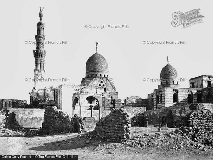 Photo of Cairo, The Mosque Of Kaitbey 1858