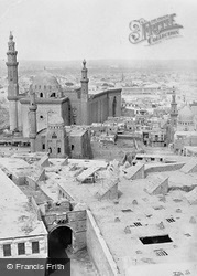 The Mosque Of The Sultan Hasan, From The Citadel 1858, Cairo