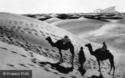 The Passage In The Desert c.1930, Cairo