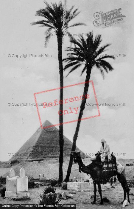 Photo of Cairo, The Pyramid Tomb Of King Chephren c.1935
