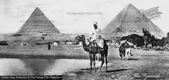 Photo of Cairo, The Pyramids c.1930