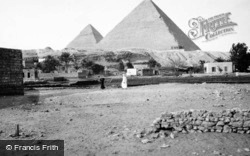 The Pyramids Of Giza c.1935, Cairo