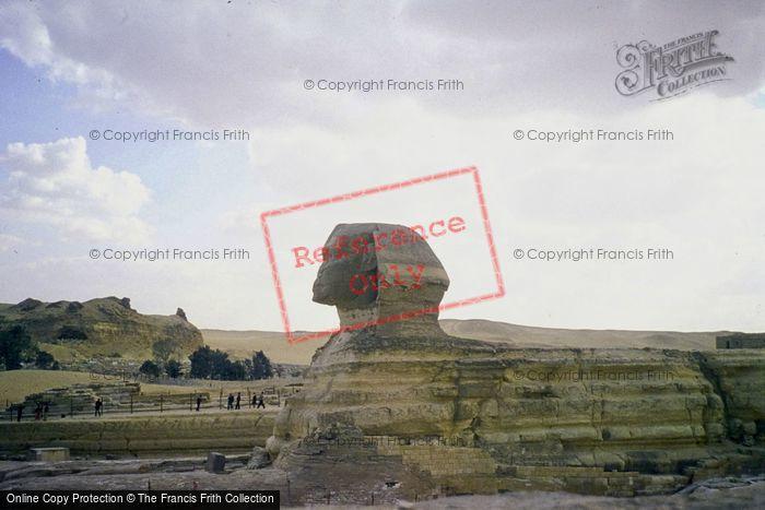 Photo of Cairo, The Sphinx 1982