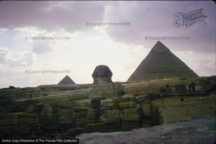 Photo of Cairo, The Sphinx And Pyramids 1982