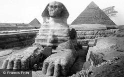 The Sphinx c.1935, Cairo