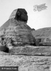 The Sphinx Of Giza c.1935, Cairo