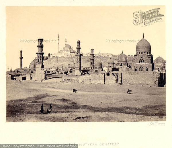 Photo of Cairo, Tombs In The Southern Cemetery 1858