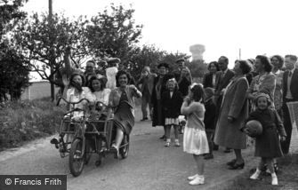 Caister-on-Sea, Fun at the Holiday Camp c1955