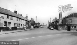 Caister-on-Sea, The Beach Road c.1960