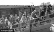 """Caister-on-Sea, The """"Camp Special"""" Arrives, Holiday Camp c.1955"""
