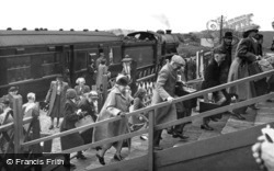 "Caister-on-Sea, The ""Camp Special"" Arrives, Holiday Camp c.1955"
