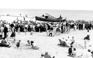 Caister-on-Sea, The Lifeboat 'jose Neville' c.1960