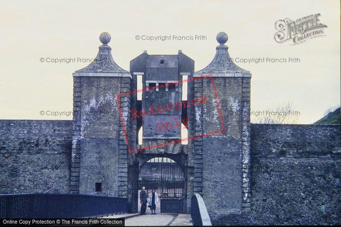 Photo of Calais, The Citadel Gates 1987