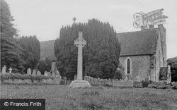 Calbourne, All Saints Church And War Memorial c.1955