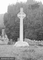 Calbourne, War Memorial c.1955