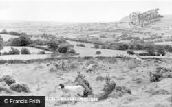 Caldbeck, General View From Ratten Row c.1955