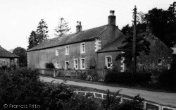 Caldbeck, House By The River c.1955