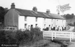 Caldbeck, Riverside Cottages c.1955