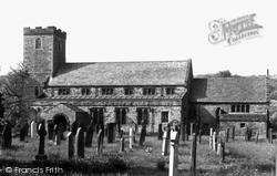 Caldbeck, St Kentigern's Church c.1955