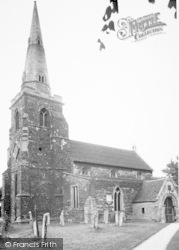 Caldecott, The Church c.1955