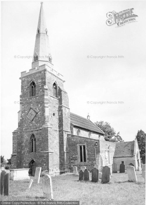Photo of Caldecott, The Church c.1955