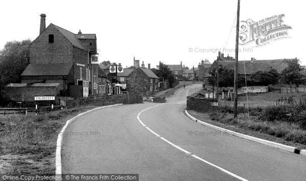 Photo of Caldecott, The Village c.1955