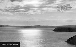 Caldey Island, A Summer Night c.1950