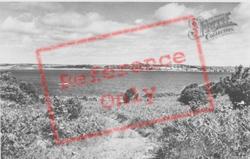 Looking Towards Tenby c.1960, Caldey Island