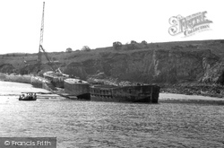 Caldey Island, Priory Bay c.1955