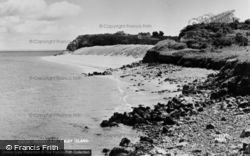 Caldey Island, Priory Bay c.1965