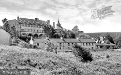 Caldey Island, The Abbey c.1965