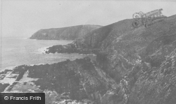 The Cliffs c.1955, Caldey Island