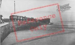 The Landing Stage c.1955, Caldey Island