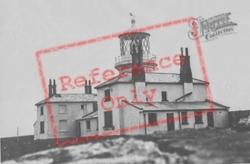 The Lighthouse c.1955, Caldey Island