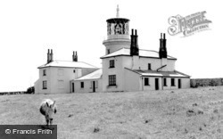 Caldey Island, The Lighthouse c.1960
