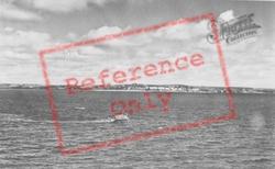 The View Towards Tenby c.1960, Caldey Island