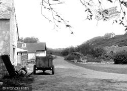 Caldey Island, The Village c.1955
