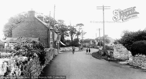 Caldicot, Chepstow Road c1955