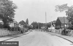 Caldicot, Church Road c.1955