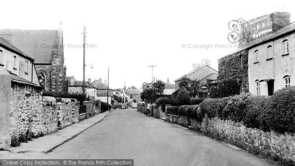 Caldicot, West End c1955