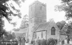 Caldicot, St Mary's Church c.1955