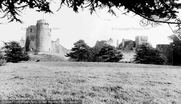 Caldicot, the Castle c1955