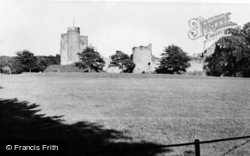 Caldicot, The Castle c.1960