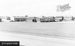 Caldicot, The School And Close c.1960
