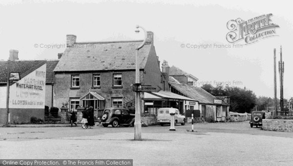 Caldicot, the Village c1955