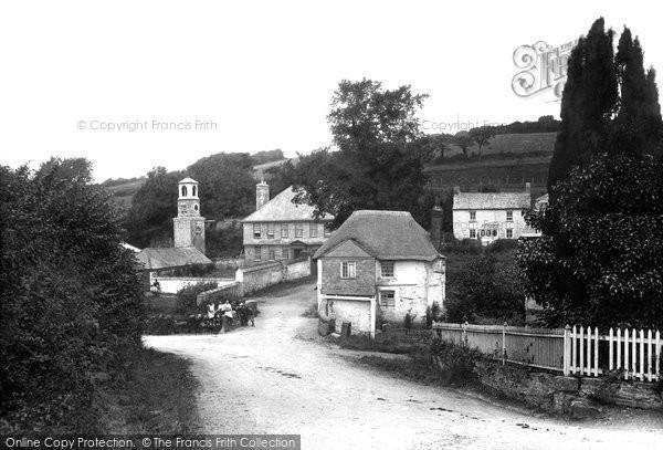 Truro, Calenick Village 1912